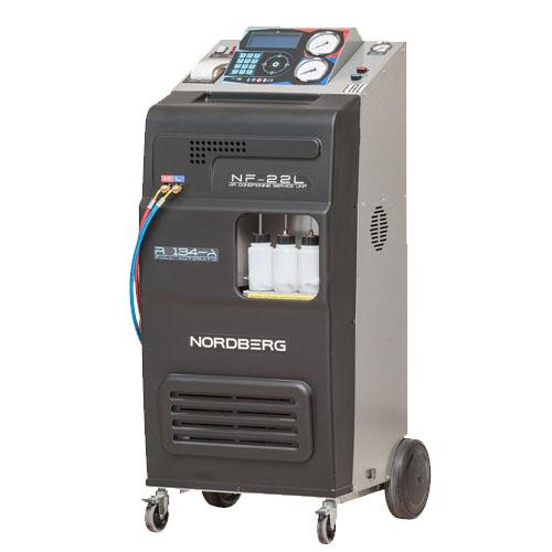 Автоматическая установка для заправки автомобильных кондиционеров 22 л NF22L NORDBERG