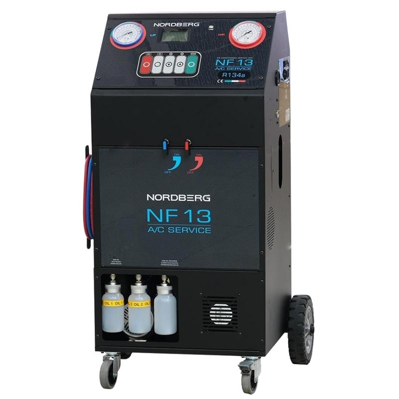 Автомат для заправки автомобильных кондиционеров NF13 NORDBERG