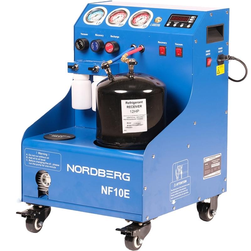 Полуавтомат для заправки автомобильных кондиционеров NF10E NORDBERG