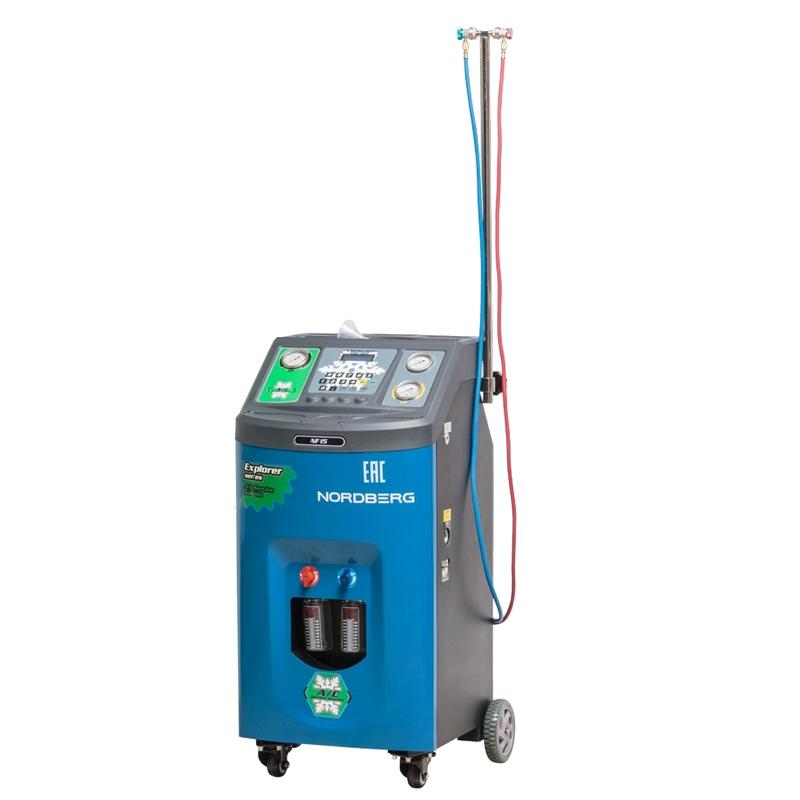 Полуавтомат для заправки автомобильных кондиционеров NF15 NORDBERG